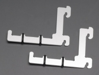 Train Safe TBA-H0 1 pair mounting bracket Aluminium Scale H0 new