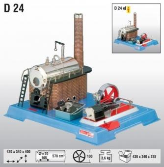 Wilesco D 24 Dampfmaschine Fabrikneu