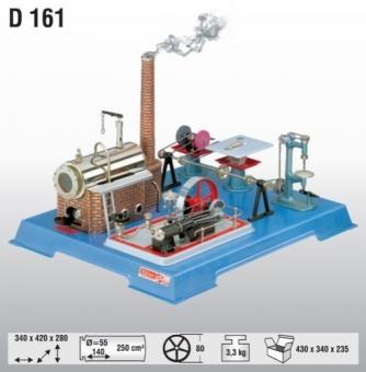 Wilesco D 161 Dampfmaschine Fabrikneu