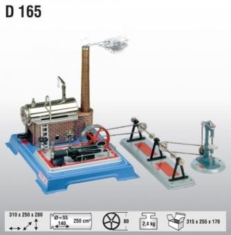 Wilesco D 165 Dampfmaschine Sparpaket Fabrikneu