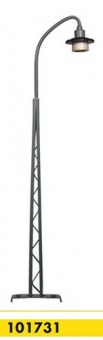 Beli-Beco 101731 Gittermastlampe 1-fach H0 Höhe 135 mm Fabrikneu