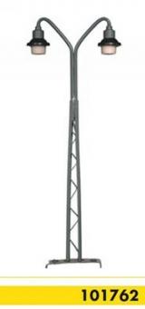 Beli-Beco 101762 Gittermastlampe 2-fach H0 Höhe 110 mm Fabrikneu