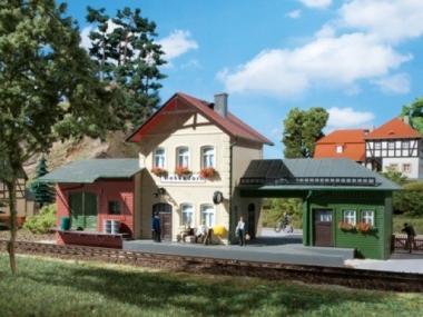 Auhagen 11331 Bahnhof Hohendorf in H0 Bausatz Fabrikneu