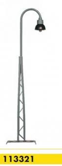 Beli-Beco 113321 Gittermastlampe 1-fach H0 Höhe 110 mm Fabrikneu