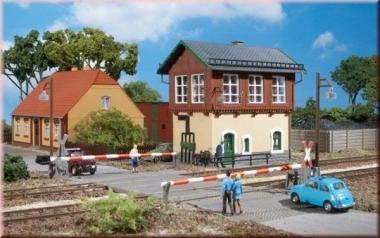 Auhagen 11333 Stellwerk in H0 Bausatz Fabrikneu