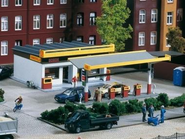 Auhagen 11340 Tankstelle in H0 Bausatz Fabrikneu