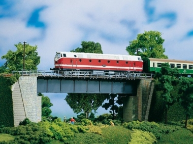 Auhagen 11341 Stahlbrücke in H0 Bausatz Fabrikneu