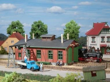 Auhagen 11355 Lokschuppen für Schmalspurbahnen in H0 e/m NEUWARE