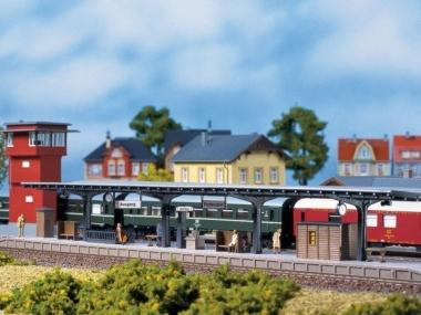 Auhagen 11376 Bahnsteig in H0 Bausatz