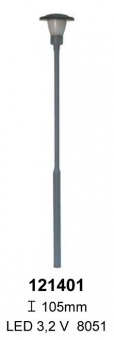 Beli-Beco 121401 Straßenlampe mit Stecksockel SMD 0 Höhe 105 mm Fabrikneu