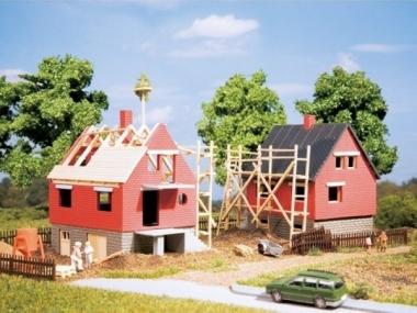 Auhagen 12215 Zwei Rohbausiedlungshäuser in H0/TT Bausatz