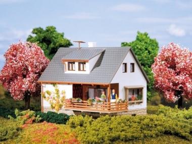 Auhagen 12223 Haus Sybille in H0/TT Bausatz Fabrikneu
