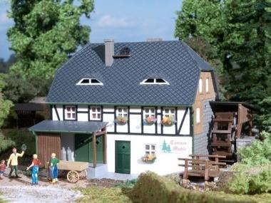 Auhagen 12230 Wassermühle in H0/TT Bausatz Fabrikneu