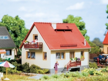 Auhagen 12232 Haus Ingrid in H0/TT Bausatz Fabrikneu