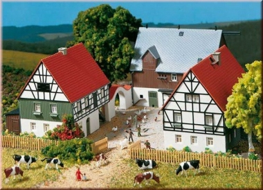 Auhagen 12257 Farm H0/TT Kit