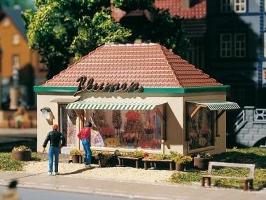 Auhagen 12349 Blumenskiosk in H0/TT Bausatz Fabrikneu