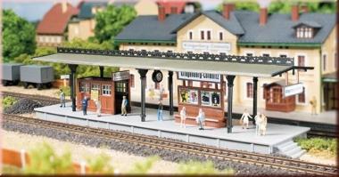 Auhagen 13221 Bahnsteig in TT Bausatz