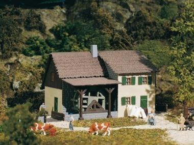 Auhagen 13307 Alte Ölmühle in TT Bausatz