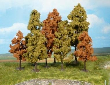 Heki 1363 Laubbäume herbstlich 30 Stück 11 - 18 cm Fabrikneu