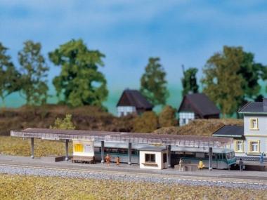 Auhagen 14459 Bahnsteig in N Bausatz