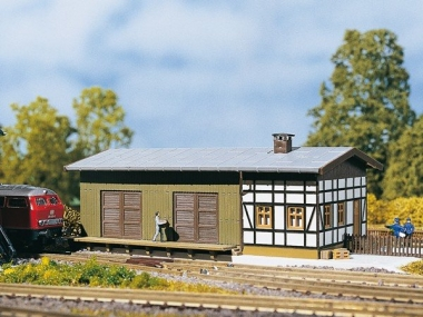 Auhagen 14460 Freight shed N Kit
