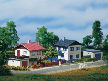 Auhagen 14462 2 Suburban houses in N new in box