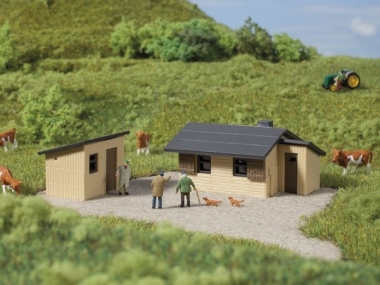Auhagen 52428 Wooden Shingle Roof Single Modelling Kit