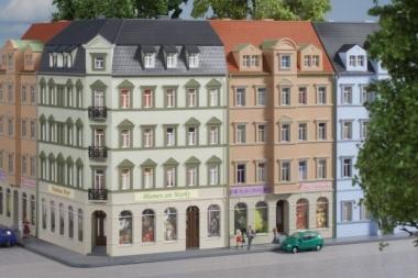 Auhagen 14478 Eckhaus Ringstraße 1 in N Bausatz