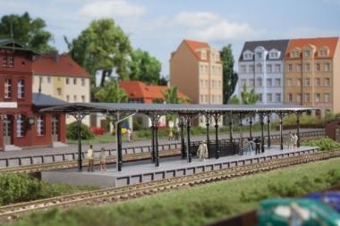 Auhagen 14481 Bahnsteig in N Bausatz