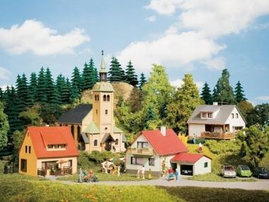 Auhagen 15201 Startset Dorf Waldkirchen in H0/TT Bausatz Fabrikneu
