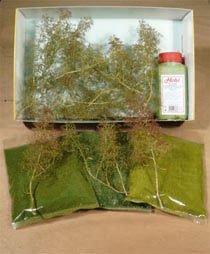 Heki 1639 Naturbäume Bausatz 15 Stück NEUWARE