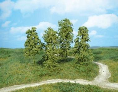 Heki 1641 Naturbäume 12 Stück mittelgrün Neuware
