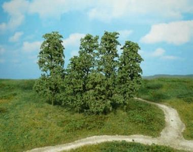 Heki 1642 Naturbäume 12 Stück dunkelgrün Fabrikneu