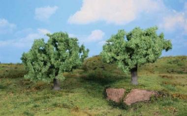 Heki 1771 Olivenbäume 2 Stück 11 cm Fabrikneu