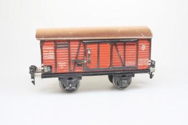 Märklin 1791/0 gedeckter Güterwagen Spur 0 Baujahr 1935-36