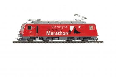 Bemo 1262294 MGB HGe 4/4 II 104 Werbelok Gornergrat Zermatt Marathon H0m