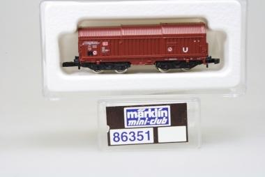Märklin 86351 Miniclub Telekophaubenwagen DB unbespielt in Originalverpackung