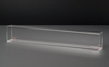 Train Safe Basic TSB-0-050 Röhre mit Spurrillen 50 cm Spur 0 Farbrikneu
