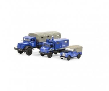 Schuco 452656000 THW MHI Set 3-teilig H0 1:87 Fabrikneu