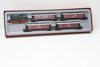 Märklin 2858 Personenzug Br. V36 mit 4 Donnerbüchsen unbespielt in H0 in OVP