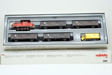 Märklin 2890 Güterzug der DBP unbespielt in Originalverpackung