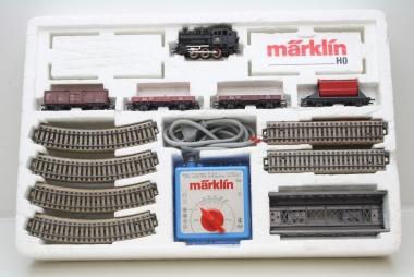 Märklin 2905 Startpackung Güterzug m. Trafo und Gleise in Originalverpackung
