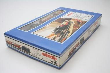 Märklin 2970 Startpackung Personenzug m. Trafo ohne Gleise in Originalverpackung