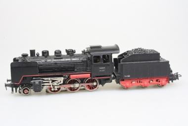 Märklin 3003 Dampflok 24 258 der DB mit Dampfgenerator im Bilderkarton
