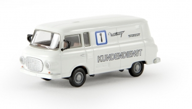 Brekina 30116 Barkas B 1000 Kasten Wartburg Trabant Kundendienst TD 1:87 NEUWARE