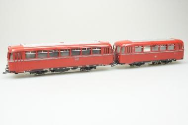 Märklin 3016 DB800 Schienenbus 959 190 + Beiwagen 142 071 DB Originalverpackung