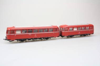 Märklin 3016 Schienenbus 795 299-7 + Beiwagen 995 522-0 DB in Originalverpackung