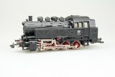 Brillante Märklin 3031 Dampflok Br. 81 004 der DB