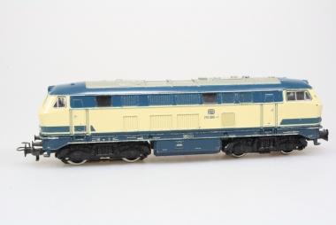 Märklin 3074 Diesellok Br. 216 090-1 der DB in Originalzustand