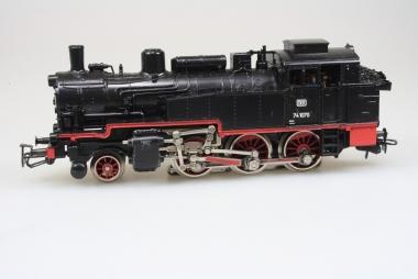 Märklin 3095 Dampflok 74 701 der DB in Bilderkarton